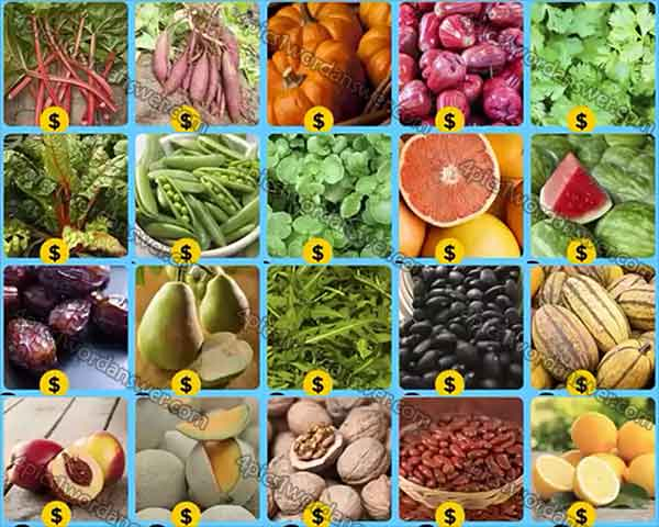 infinite-pics-fruits-and-vegs-level-20-39-answers