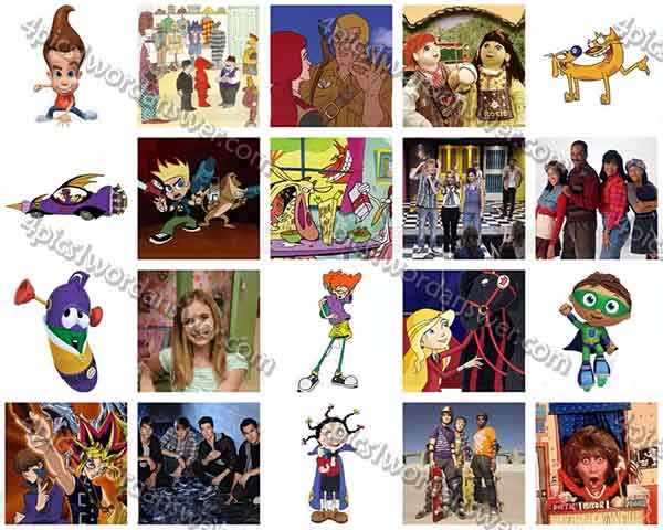 tv shows for kids. 100-pics-kids-tv-shows-level-81-100- tv shows for kids