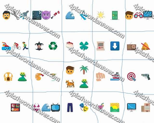 100 pics emoji quiz 5 level 61 80 answers 4 pics 1