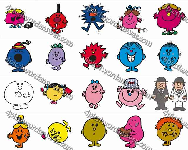 100-pics-mr-men-level-41-60-answers