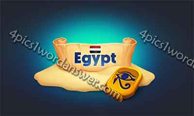 4 Pics 1 Word Daily Challenge Egypt 2017 Answers