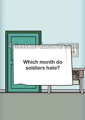 which-month-do-soldiers-hate