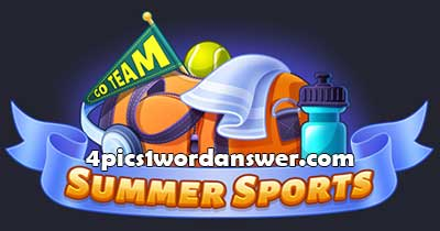 4-pics-1-word-daily-challenge-summer-sports-2021